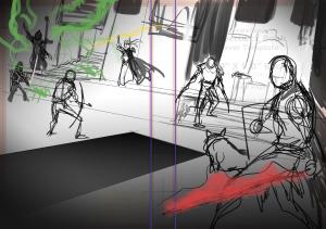 Initial Sketch 1