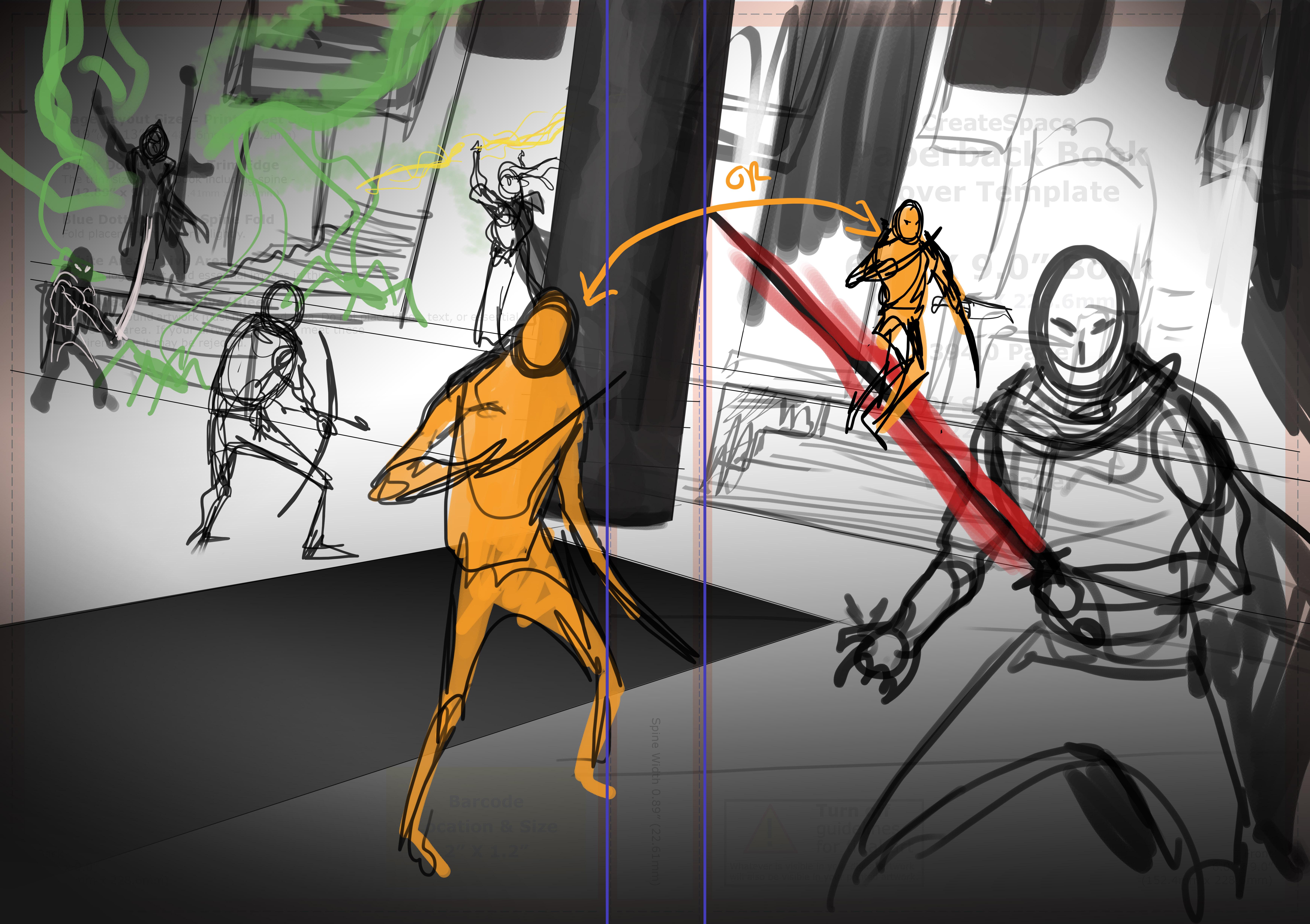 Initial Sketch 3