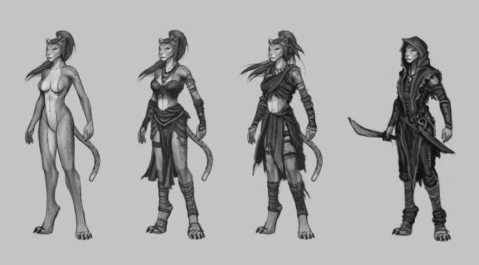 Art: Kaja Concept Pieces