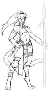 mikedeangelo_2015_2fem_wip1_by_luigiix-d8i64vt