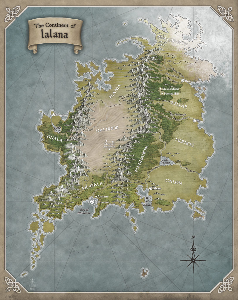 The Continent of Ialana by Misty Beee for Katlynn Brooke.
