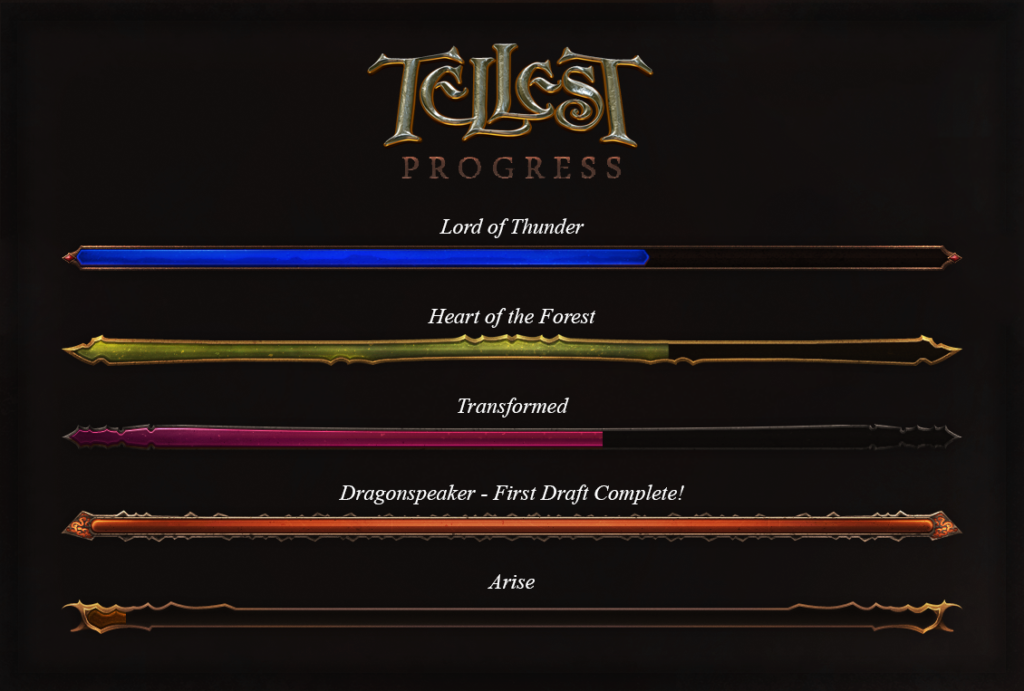 Tellest Legends Progress 4