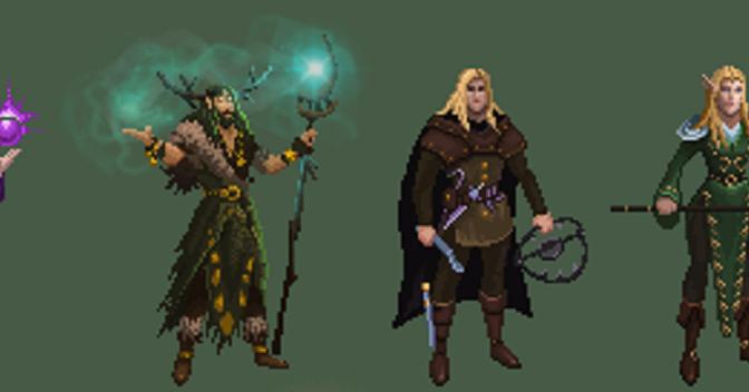 Sprite Art – Elves