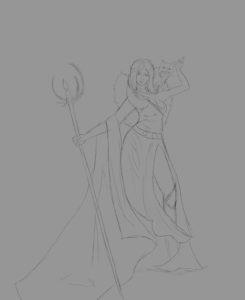 Adelia Sketch 3