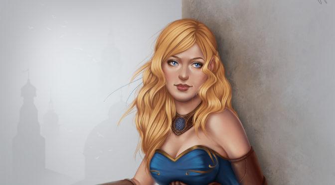 Character Art – Zoe Hart