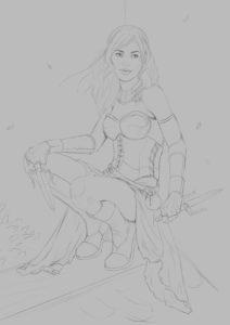Zoe dark sketch 1