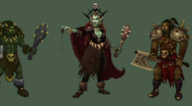 Sprite Arts – Orcs