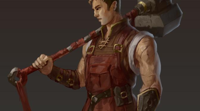 Character Art – Christopher Linus
