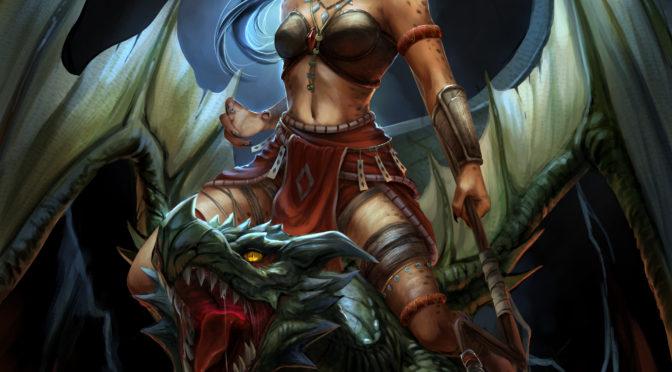 Interim Cover Art – Dragonspeaker
