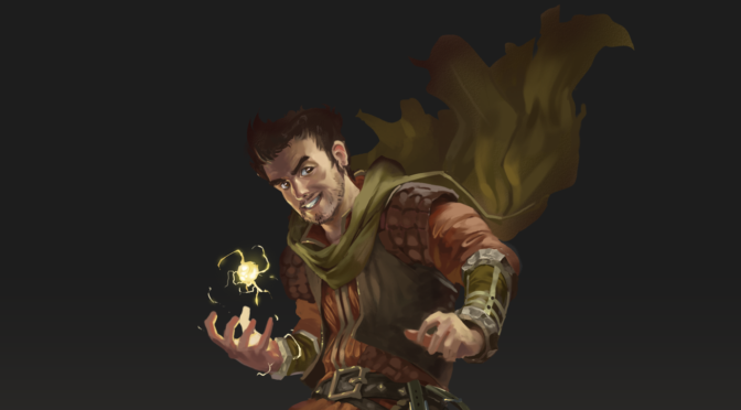Character Art – Bolt Thunderfury