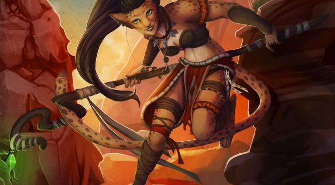 Character Art – Kaiyonani