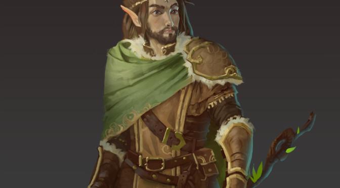 Character Art – Yvensar