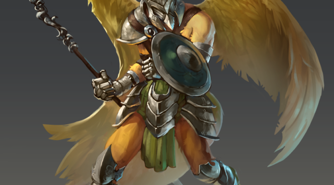 Character Art – Keota of the Avarians