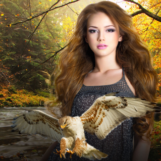 Sirenhawk Book 2: Misborn of the Wilding River by L.E.Parr