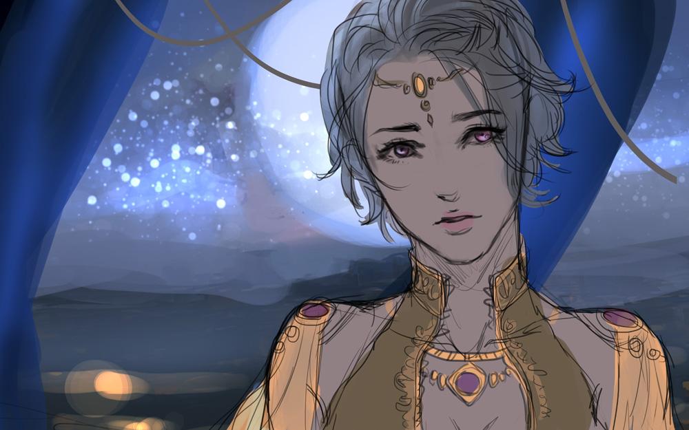 Character Art Iris Denaar